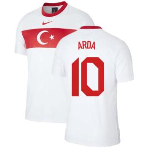 2020-2021 Turkey Supporters Home Shirt (ARDA 10)