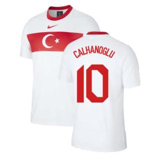 2020-2021 Turkey Supporters Home Shirt (Kids) (CALHANOGLU 10)