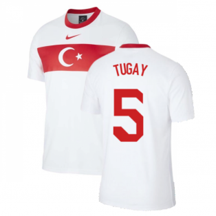 2020-2021 Turkey Supporters Home Shirt (Kids) (TUGAY 5)