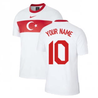 2020-2021 Turkey Supporters Home Shirt (Kids) (Your Name)