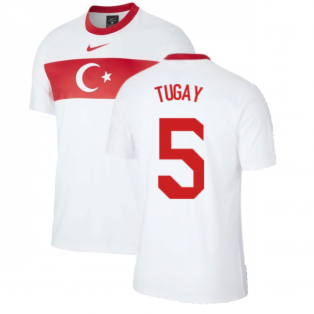 2020-2021 Turkey Supporters Home Shirt (TUGAY 5)