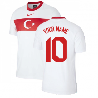 2020-2021 Turkey Supporters Home Shirt (Your Name)