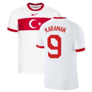 2020-2021 Turkey Vapor Home Shirt (KARAMAN 9)
