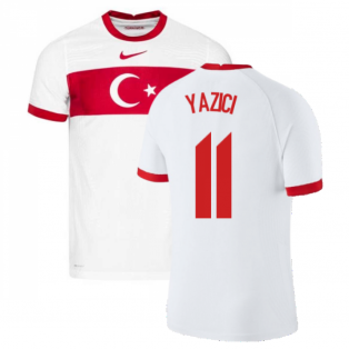 2020-2021 Turkey Vapor Home Shirt (YAZICI 11)
