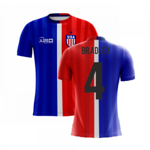 2020-2021 USA Airo Concept Away Shirt (Bradley 4) - Kids