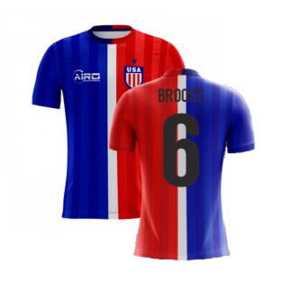 2020-2021 USA Airo Concept Away Shirt (Brooks 6) - Kids