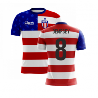 2020-2021 USA Airo Concept Home Shirt (Dempsey 8) - Kids