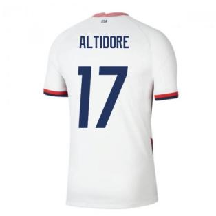 2020-2021 USA Home Football Shirt (ALTIDORE 17)
