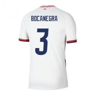 2020-2021 USA Home Football Shirt (BOCANEGRA 3)