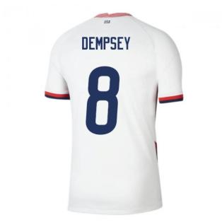 2020-2021 USA Home Football Shirt (DEMPSEY 8)