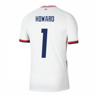2020-2021 USA Home Football Shirt (HOWARD 1)