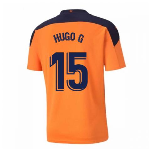 2020-2021 Valencia Away Shirt (HUGO G 15)