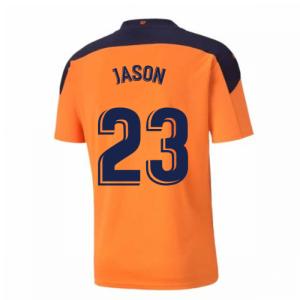 2020-2021 Valencia Away Shirt (JASON 23)