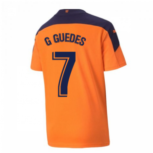 2020-2021 Valencia Away Shirt (Kids) (G GUEDES 7)