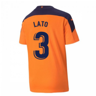 2020-2021 Valencia Away Shirt (Kids) (LATO 3)