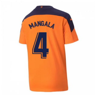2020-2021 Valencia Away Shirt (Kids) (MANGALA 4)