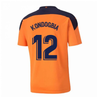 2020-2021 Valencia Away Shirt (KONDOGBIA 12)