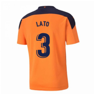 2020-2021 Valencia Away Shirt (LATO 3)