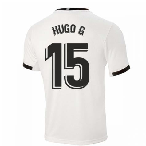 2020-2021 Valencia Home Shirt (Kids) (HUGO G 15)