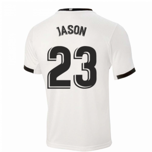 2020-2021 Valencia Home Shirt (Kids) (JASON 23)