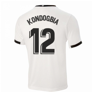 2020-2021 Valencia Home Shirt (Kids) (KONDOGBIA 12)