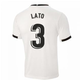 2020-2021 Valencia Home Shirt (Kids) (LATO 3)
