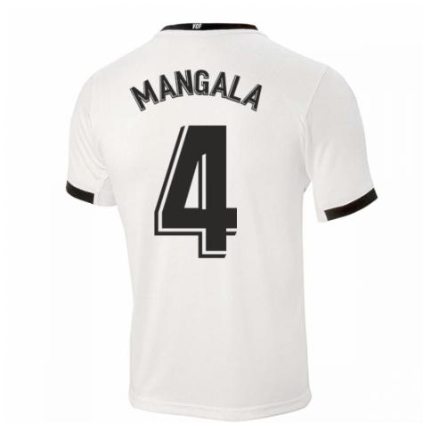 2020-2021 Valencia Home Shirt (Kids) (MANGALA 4)