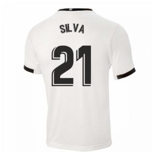 2020-2021 Valencia Home Shirt (SILVA 21)