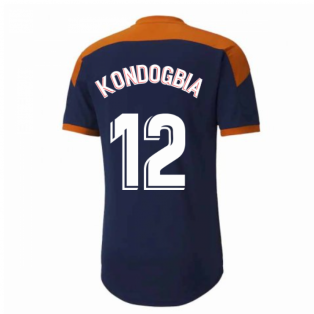 2020-2021 Valencia Training Shirt (Peacot) (KONDOGBIA 12)