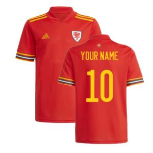 2020-2021 Wales Home Adidas Football Shirt