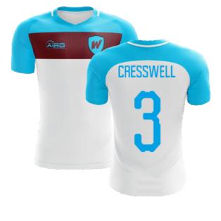 2020-2021 West Ham Away Concept Football Shirt (CRESSWELL 3)