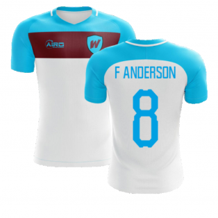 2020-2021 West Ham Away Concept Football Shirt (F ANDERSON 8)
