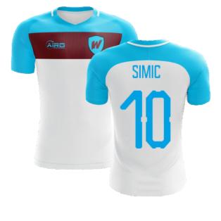 2020-2021 West Ham Away Concept Football Shirt (Simic 10)