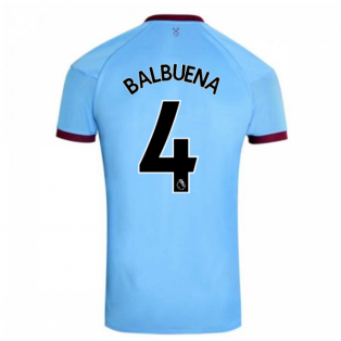 2020-2021 West Ham Away Football Shirt (BALBUENA 4)