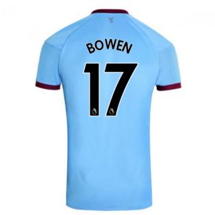 2020-2021 West Ham Away Football Shirt (BOWEN 17)
