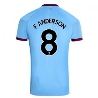 2020-2021 West Ham Away Football Shirt (F ANDERSON 8)