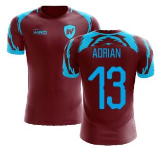 2020-2021 West Ham Home Concept Football Shirt (ADRIAN 13)