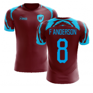 2020-2021 West Ham Home Concept Football Shirt (F ANDERSON 8)
