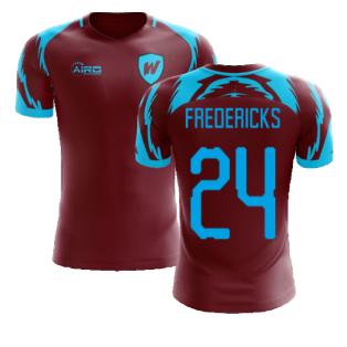 2020-2021 West Ham Home Concept Football Shirt (FREDERICKS 24)