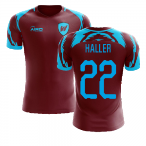 2020-2021 West Ham Home Concept Football Shirt (Haller 22)