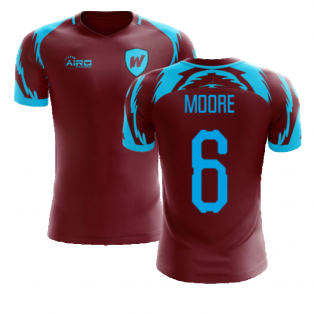 2020-2021 West Ham Home Concept Football Shirt (MOORE 6)