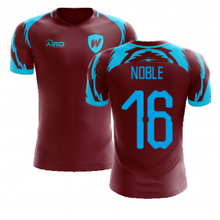 2020-2021 West Ham Home Concept Football Shirt (NOBLE 16)