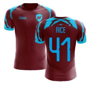 2020-2021 West Ham Home Concept Football Shirt (RICE 41)