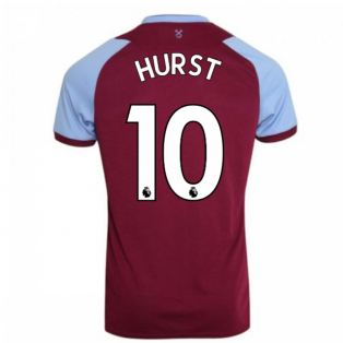2020-2021 West Ham Home Football Shirt (HURST 10)