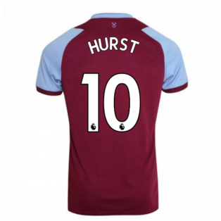 2020-2021 West Ham Home Football Shirt (Kids) (HURST 10)
