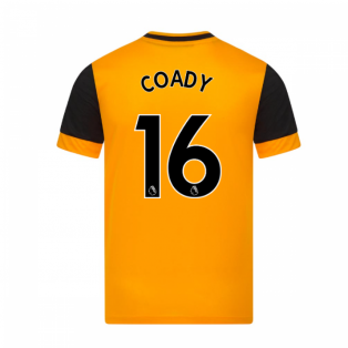 2020-2021 Wolves Home Football Shirt (COADY 16)