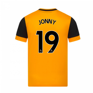 2020-2021 Wolves Home Football Shirt (JONNY 19)