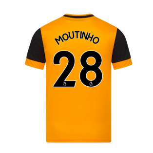 2020-2021 Wolves Home Football Shirt (MOUTINHO 28)