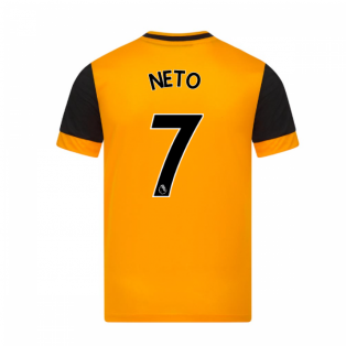 2020-2021 Wolves Home Football Shirt (NETO 7)