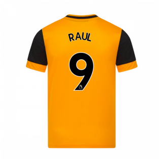 2020-2021 Wolves Home Football Shirt (RAUL 9)